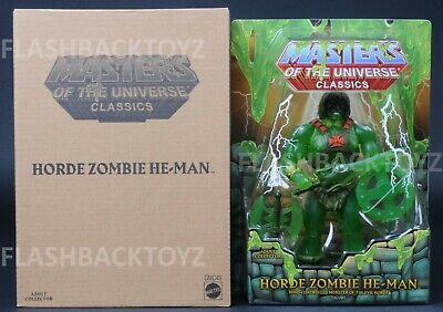 2019 Power Con MOTU Horde Zombie He-Man Masters of the Universe Classics Slime
