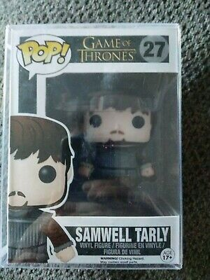 Funko Pop! Samwell Tarly #27 Game Of Thrones VAULTED - w/protector