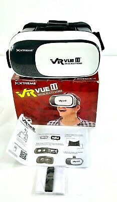 Xtreme VR Vue II Virtual Reality Viewer Ports For Headphones and Charges Phone