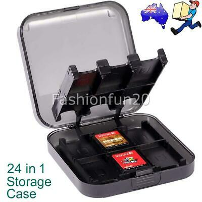 Game Card Case Holder 24 in 1 Cartridge Storage Box for Nintendo Switch