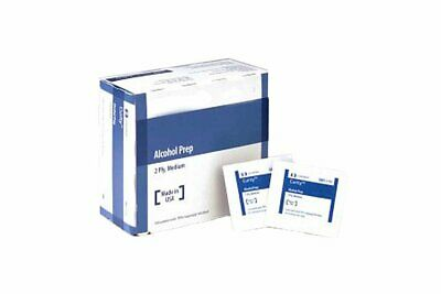 Alcohol Prep Pads. Case of 4000 Medium Pads for Skin Preparation Before...