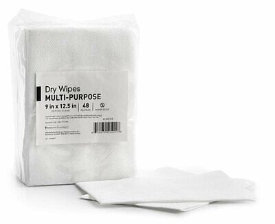 Dry Cleaning Cloth Wipes 9 x 12.5. Case of 768 Multi-purpose wipes for...
