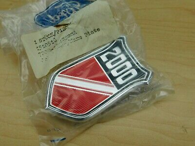Nos Ford Mercury Capri 1973-1977 2.0L 2000 Fender Badge Emblem Ps19-4G