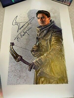 John Barrowman autographed poster - Arrow