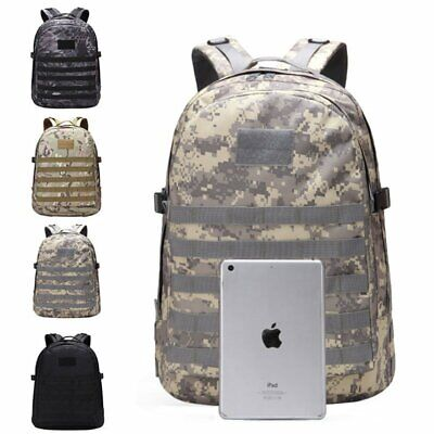 Mens Boys Large Backpack Travel Rucksack Shoulder Laptop School Bag Waterproof