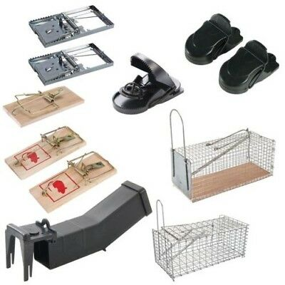 Pest Control Mouse and Rat Classic Trap Hardwood classic Cage Humane