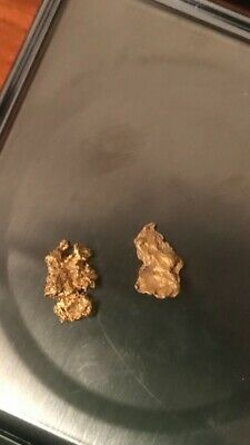 GOLD NUGGETS 1.38 GRAMS from the golden triangle (AUSTRALIAN NATURAL)