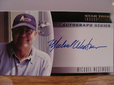 Star Trek Insurrection Autograph A7 Michael Westmore (Trading Card)