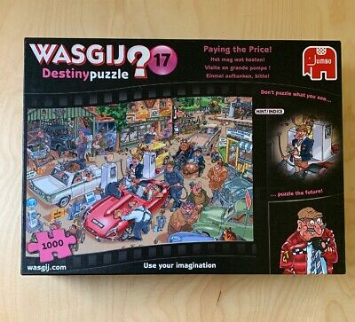 1000 PIECE JIGSAW PUZZLE WASGIJ DESTINY 17 -  PAYING THE PRICE! Free P&P