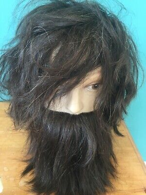 Hairdressing Barber Block Head Beard and Wig Training Mannequin