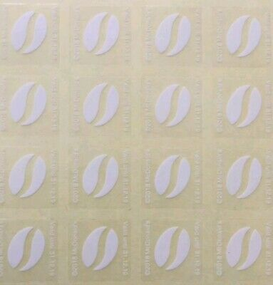 *McDonald's* Coffee Bean Stickers (30 cups + 5 bonus cups!)