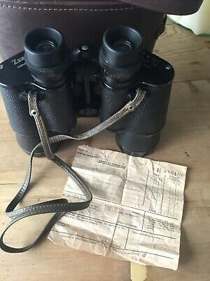 VINTAGE ZENITH......7x50 Field 7.1 BINOCULARS..No, 14954 With Original Receipt