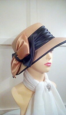 Vintage wedding occasion races formal hat