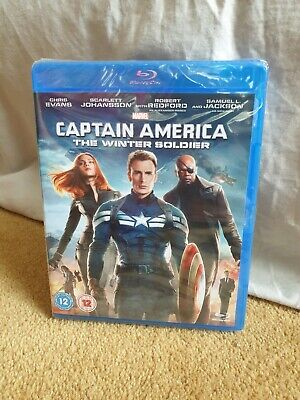 Captain America : The Winter Soldier Blu-Ray DVD - BRAND NEW & SEALED - Marvel