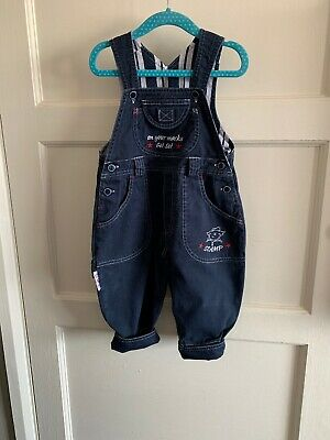 Vintage Baby Days Boys Scamp Dungarees 1990s 12-18 Months