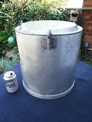Vintage 1950 Frank Ford Insulated 22 Pint Foods/Liquids Useable Container Lidded