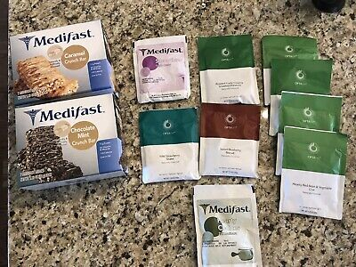 Optavia Medifast Bars And Meals