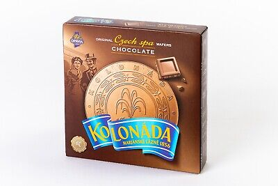 Czech Spa Wafers KOLONADA Opavia CHOCOLATE (5 x 200 g)