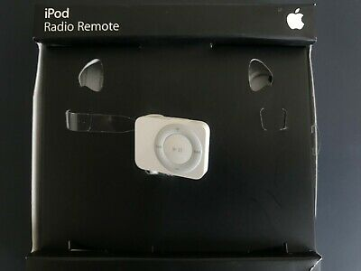 Apple White iPod Radio Remote Missing Headphones MA070G/A