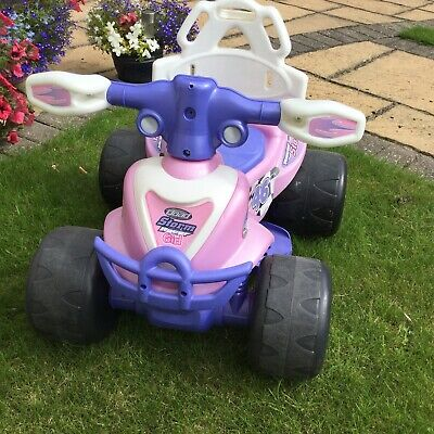 Chad Valley 6V Electric Baby Quad Bike - Pink/Purple