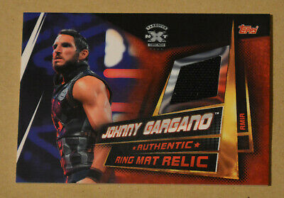 Topps WWE SLAM ATTAX UNIVERSE Ring Mat Relic JOHNNY GARGANO #RMIA card
