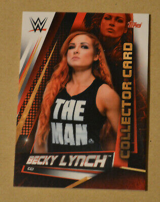 Topps WWE SLAM ATTAX UNIVERSE Collector card BECKY LYNCH #CC1
