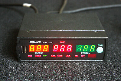 Stalker Dual DSR Display & Counting Unit, Finless, 34.7 GHz Radar KA Band