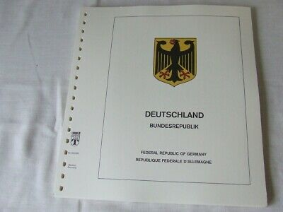 Lindner West Germany Illustrated & Hingeless Album Pages 1980-84, Excellent Cond
