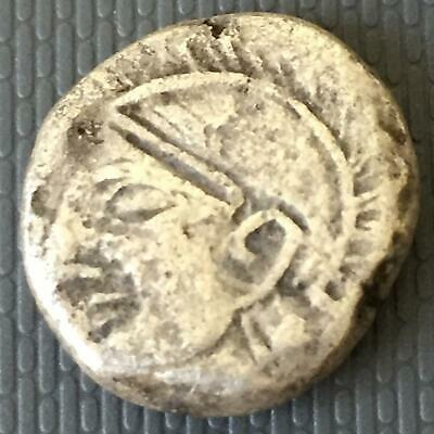 Ancient Owl Rare Greek / Silver Coin Tetradracma
