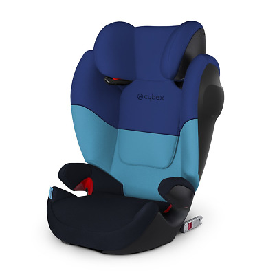CYBEX silver solution M FIT SL 15 to 36kg with or without ISOFIX high back blue