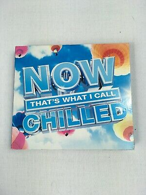 Various Artists : Now That's What I Call Chilled CD 3 discs (2014)