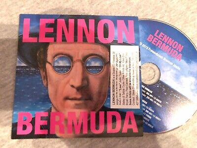 "John Lennon Lennon Bermuda Sampler UK CD single (CD5 / 5"") promo SEALED CD"