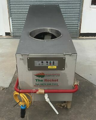 The Rocket A500 Accelerated Composter Food Waste Composting System