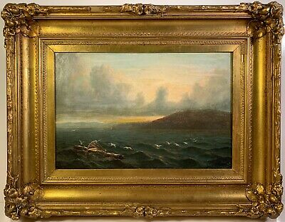 Listed Artist Mauritz Frederick De Haas (1832-1895) Signed Oil Painting w/ Prov.