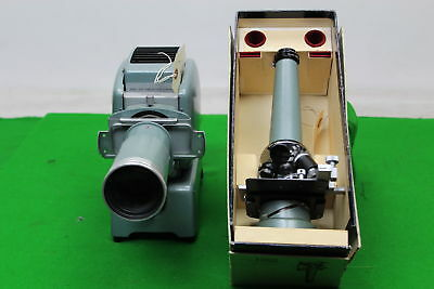 Vintage Ernest Leitz Wetzlar Prado Slide Projector w/ Microscope Attachment
