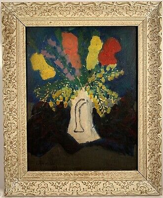 Listed Artist Sally Michel Avery (1902-2003) Signed Oil Painting c.1969