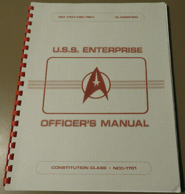 Star Trek U.S.S. Enterprise Officer's Manual (1980)