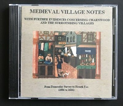 Leicestershire Medieval Village Notes CD