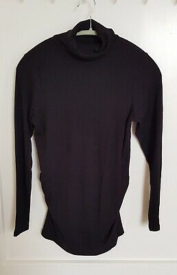 New Look maternity turtleneck jumper sweater top size 12, size M, pregnancy