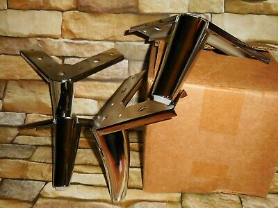 Magnificent 5 Slanted Metal Chrome Modern Furniture Sofa Table Chair Squirreltailoven Fun Painted Chair Ideas Images Squirreltailovenorg