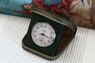 Rebuilt Very Early 1948-50 Smiths Empire Pocket Watch in Original Travel Case