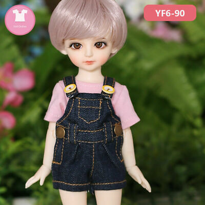 Different cotton overalls for Realpuki 1//12 bjd doll clothes outfit dress shorts