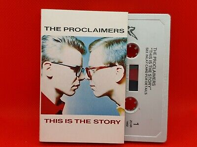 "The Proclaimers - ""This Is The Story"" (1987) Audio Cassette Rare (VG+)"