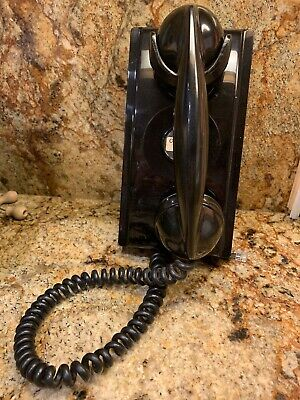 Vintage Bell System Western Electric Wall TELEPHONE
