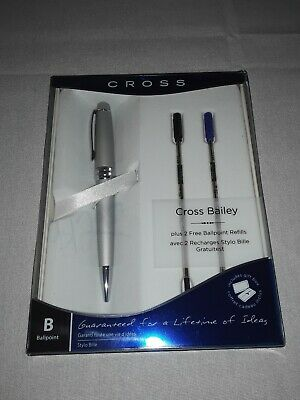Cross Bailey Medalist Ballpoint Pen in Gift Box Plus 2 free Refills 2015