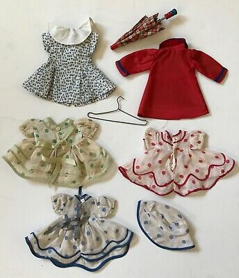 LOT OF CLOTHES DRESS FOR SHIRLEY TEMPLE DOLL 1930's ONE *TAGGED* IDEAL