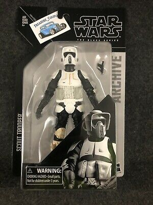 """Disney Star Wars The Black Series Archive 6"""" Action Figures Wave 2 Scout Trooper"""