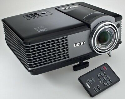 BenQ MP522 DLP LCD PROJECTOR USED 1298 LAMP HOURS SPOTTY PIXEL   REF: 1039