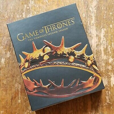 Game of Thrones: The Complete Second Season Blu-Ray EXCELLENT