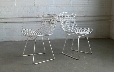 Vintage Knoll Bertoia Wire Side Chair (Set of 2)